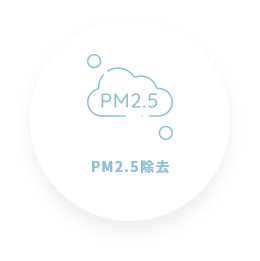PM2.5除去